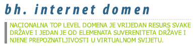 BiH internet domena